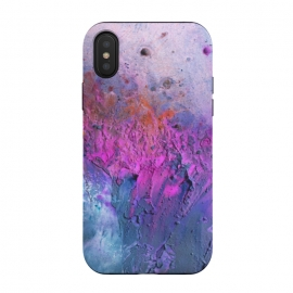iPhone X  Paint by Susanna Nousiainen (paint,90s,90s vibes,colors,bright,purple,splash)