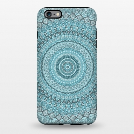 iPhone 6/6s plus  Teal Turquoise Mandala by Andrea Haase