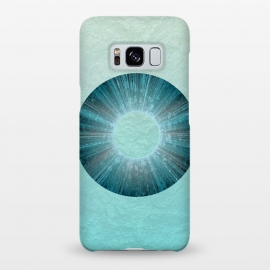 Galaxy S8+  Turquoise Alien Iris by Andrea Haase