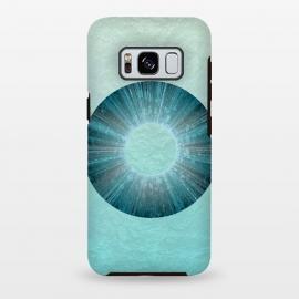 Galaxy S8 plus  Turquoise Alien Iris by