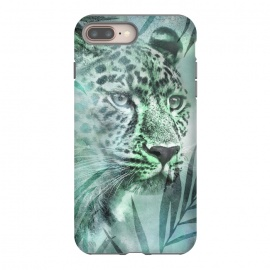 iPhone 8/7 plus  Cheetah Green Jungle by Andrea Haase
