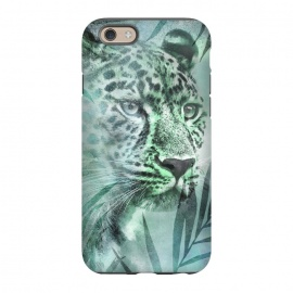 iPhone 6/6s  Cheetah Green Jungle by Andrea Haase
