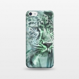 iPhone 5C  Cheetah Green Jungle by Andrea Haase
