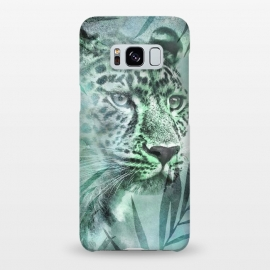 Galaxy S8+  Cheetah Green Jungle by Andrea Haase