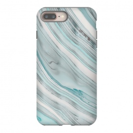 Teal Marble Elegance by Andrea Haase