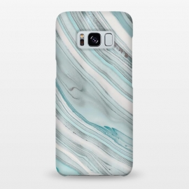 Galaxy S8+  Teal Marble Elegance by Andrea Haase