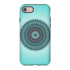 iPhone 8/7  Mandala Turquoise by Andrea Haase