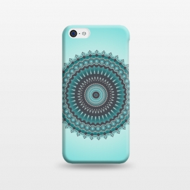 iPhone 5C  Mandala Turquoise by Andrea Haase