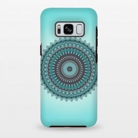 Galaxy S8 plus  Mandala Turquoise by