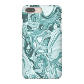 iPhone 8/7 plus  Faux Marble Teal Green by Andrea Haase