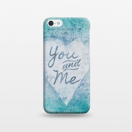 iPhone 5C  You And Me Love Heart by Andrea Haase