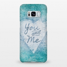 Galaxy S8+  You And Me Love Heart by Andrea Haase