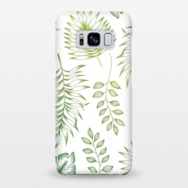 Tropical Leaves by Barlena