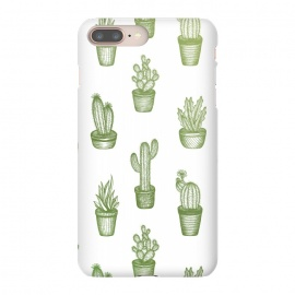 Succulents by Barlena (Cacti, cactus, succulents, plant, succulent, love, pattern, green, nature, cool, modern, drawing)