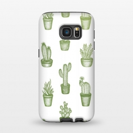 Galaxy S7  Succulents by Barlena