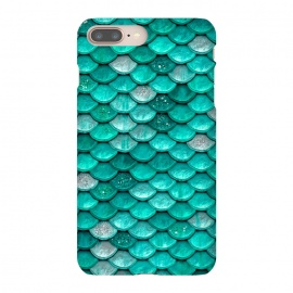 Mint Glitter Metal Mermaid Scales by Utart