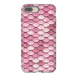Pink Glitter Mermaid Scales by Utart