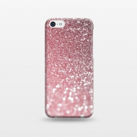 iPhone 5C  Rose Gold Glitter  by Utart