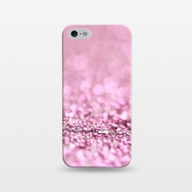 iPhone 5/5E/5s  Rose Gold Blush Glitter by Utart