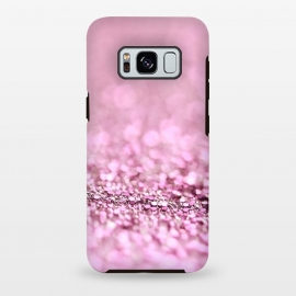 Galaxy S8+  Rose Gold Blush Glitter by Utart
