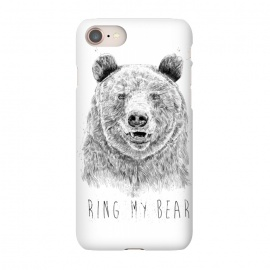 iPhone 8/7  Ring my bear (bw) by Balazs Solti