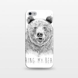 iPhone 5/5E/5s  Ring my bear (bw) by Balazs Solti