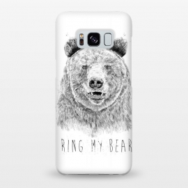 Galaxy S8+  Ring my bear (bw) by Balazs Solti