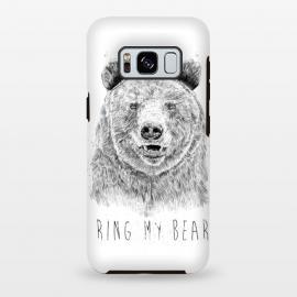 Galaxy S8 plus  Ring my bear (bw) by