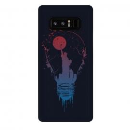 Galaxy Note 8  Big city lights (dark) by