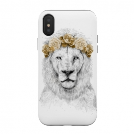 iPhone Xs / X  Festival lion II by Balazs Solti