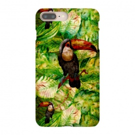 iPhone 8/7 plus  Tropical Jungle Bird by