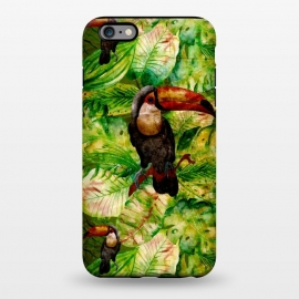 iPhone 6/6s plus  Tropical Jungle Bird by Utart