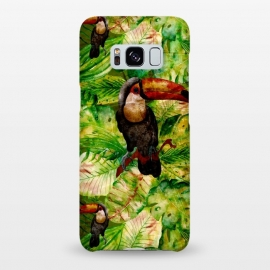 Galaxy S8+  Tropical Jungle Bird by Utart