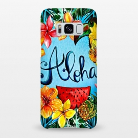 Galaxy S8+  Aloha Tropical Fruits by Utart