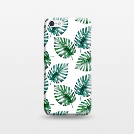 iPhone 5C  Aloha Monstera Pattern by Utart