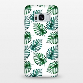 Galaxy S8+  Aloha Monstera Pattern by Utart