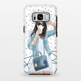 Galaxy S8 plus  Trendy City Fashion Girl by