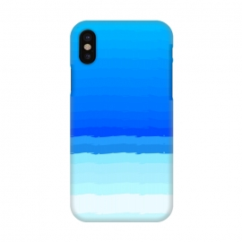iPhone X  blue shaded lines shades by MALLIKA