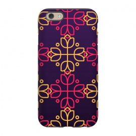 iPhone 6/6s  yellow pink floral pattern by MALLIKA
