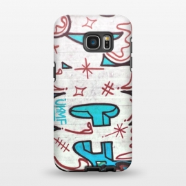 Galaxy S7 EDGE  Spray Paint Grafitti Tag by Andrea Haase