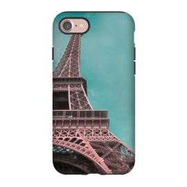 iPhone 8/7  Pink Paris Eiffeltower by Andrea Haase