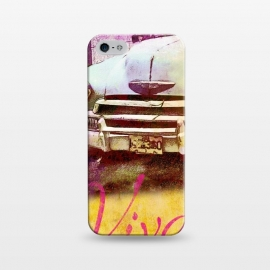 iPhone 5/5E/5s  Viva Cuba Old Car Mixed Media Art by Andrea Haase