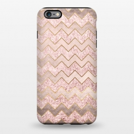 iPhone 6/6s plus  Rose Gold Glitter chevron by Utart