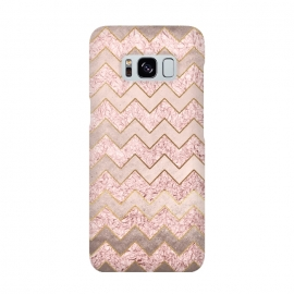 Rose Gold Glitter chevron by Utart