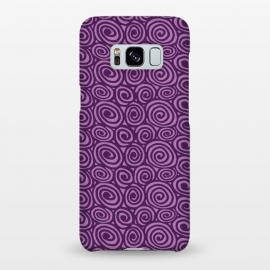 Galaxy S8+  Spiral pattern by Laura Nagel