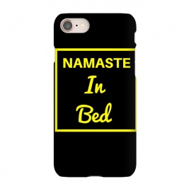 iPhone 8/7  namaste in bed yellow by MALLIKA