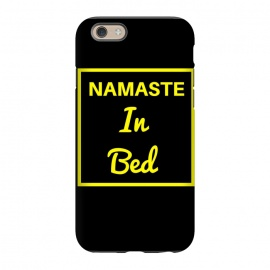 iPhone 6/6s  namaste in bed yellow by MALLIKA