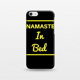 iPhone 5C  namaste in bed yellow by MALLIKA