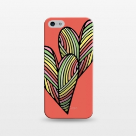 iPhone 5/5E/5s  Two Hearts by Majoih