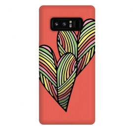 Galaxy Note 8  Two Hearts by Majoih